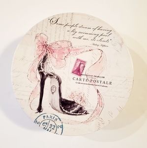 🌞5/$25 Paris Shoe Graphic Decorative Storage Box